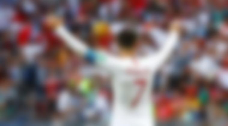 Ronaldo goal vs Morocco - World Cup 2018