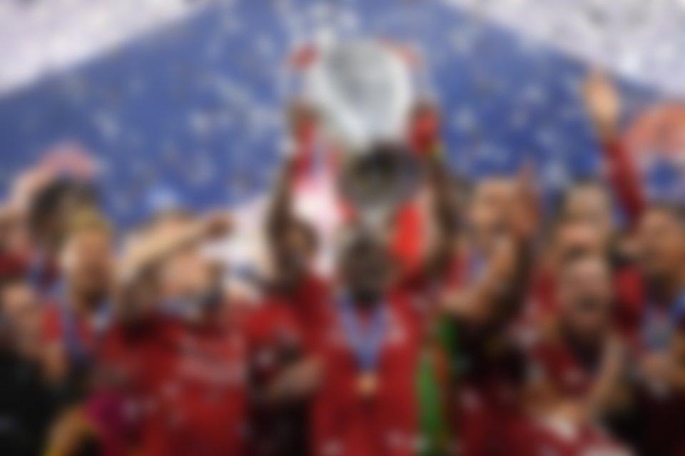 Sadio Mane Champions League celebration