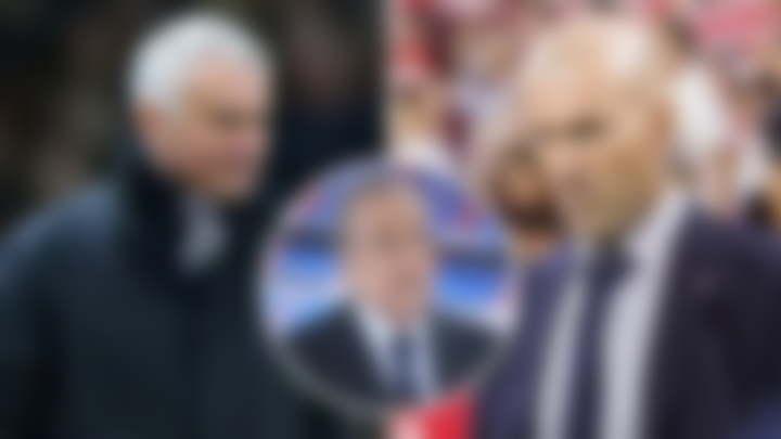 Jose Mourinho to replace zidane