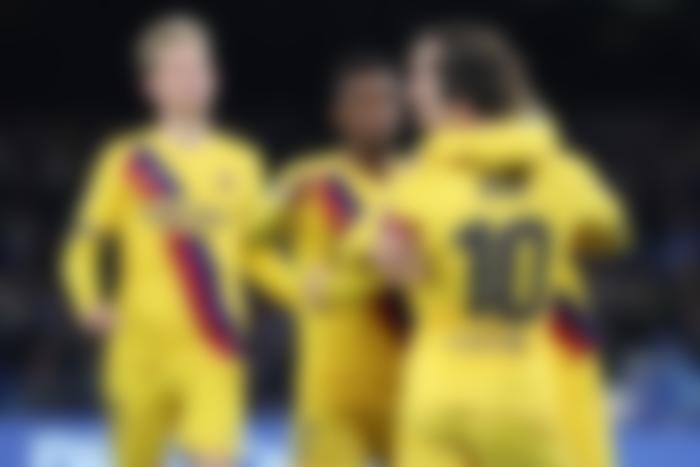barcelona vs napoli 2020