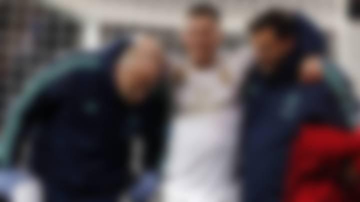 Eden Hazard ankle injury