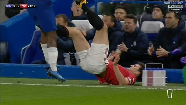 Harry Maguire vs Chelsea