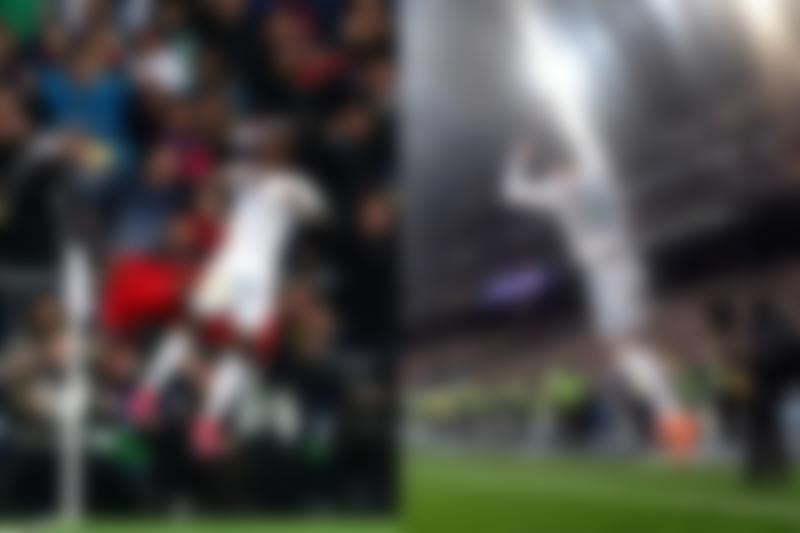 Vinicius Junior Ronaldo celebration El-Clasico