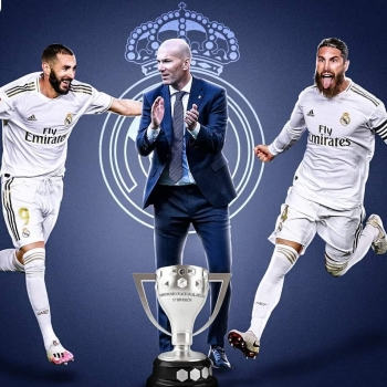 Real Madrid La Liga Champions 2020 HD wallpaper