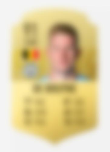 Kevin De Bruyne FIFA20