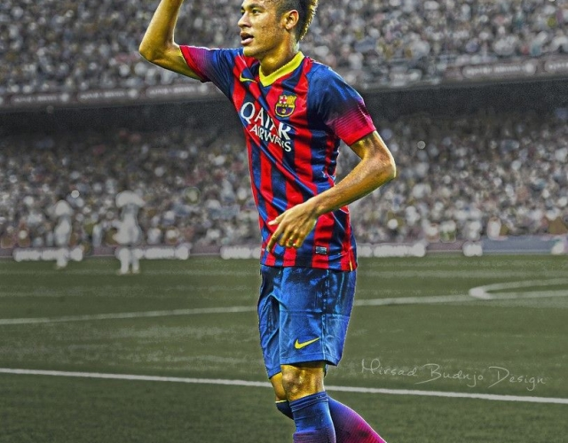 Neymar FC Barcelona wallpaper HD