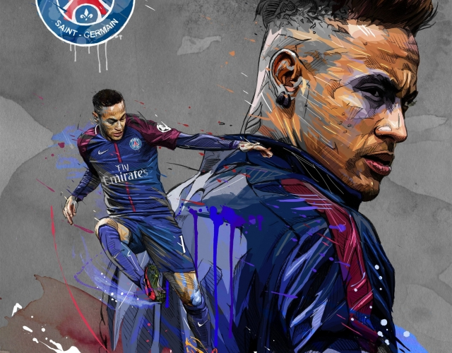 Neymar Junior psg HD wallpapers 4K 2020