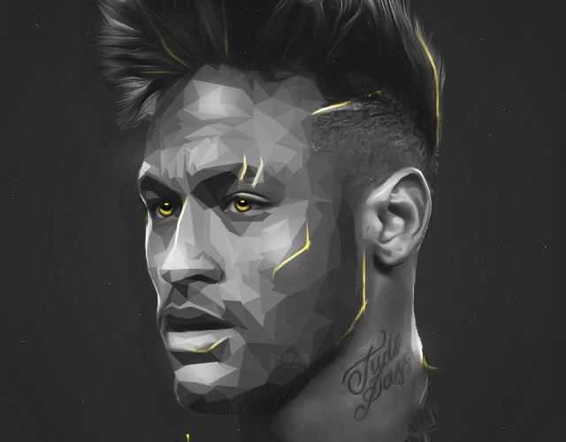 Neymar portrait iPhone HD 4K wallpaper 2020