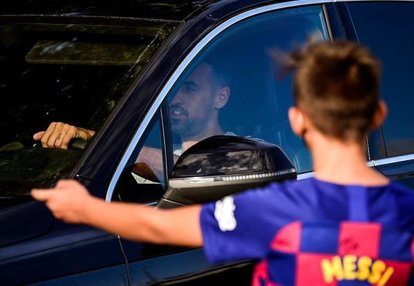 Messi did not show up for training