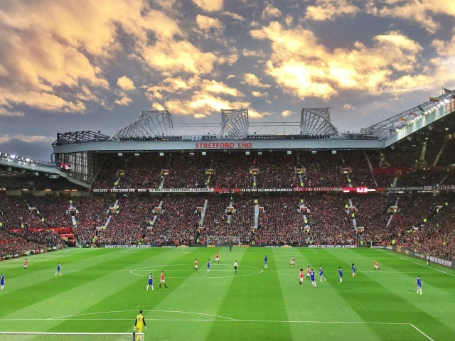 Manchester United Old Trafford stadium wallpaper 4k HD HQ wallpaper
