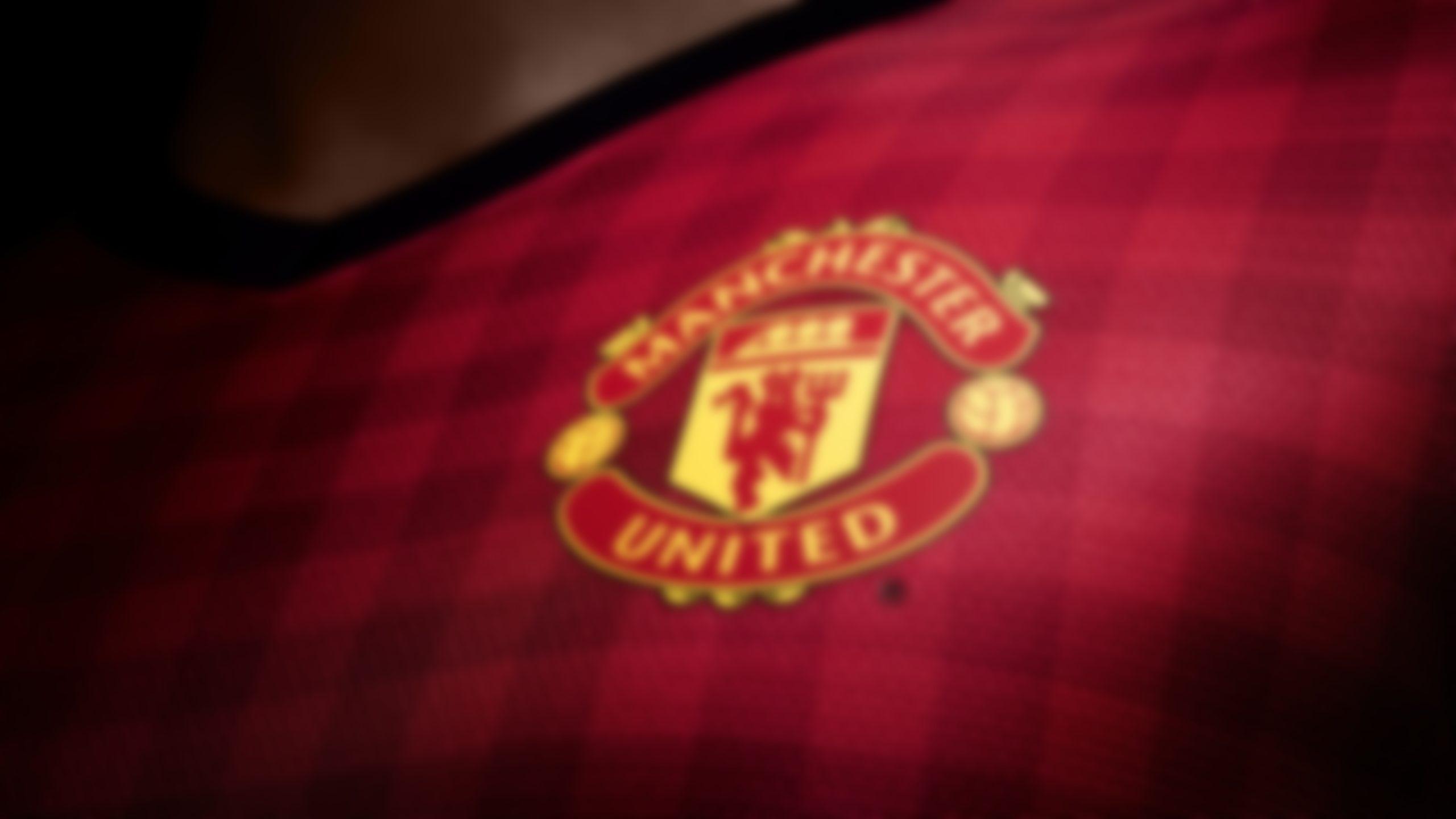 Manchester United shirt logo wallpaper 4k HD download for desktop