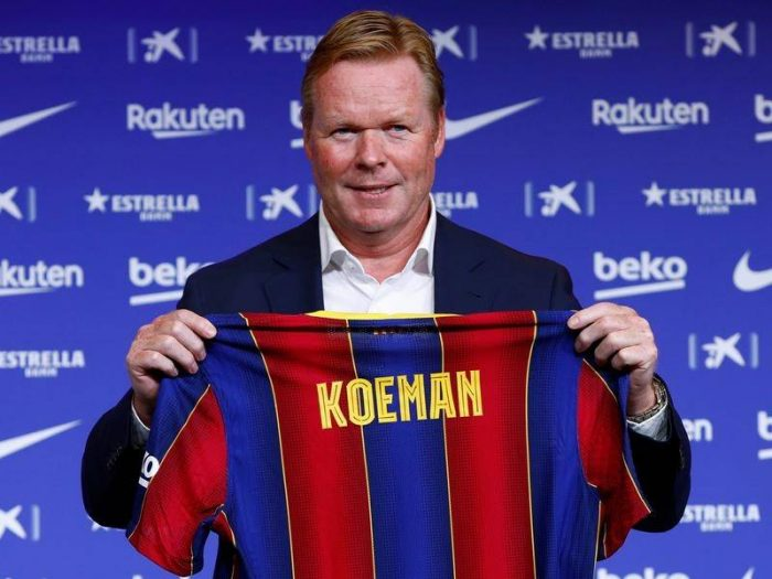 Ronald Koeman Barcelona Manager