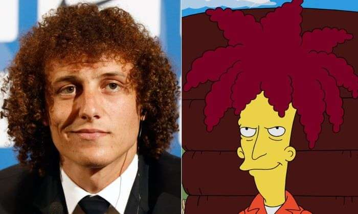 famous football hairstyles david luiz bobshow