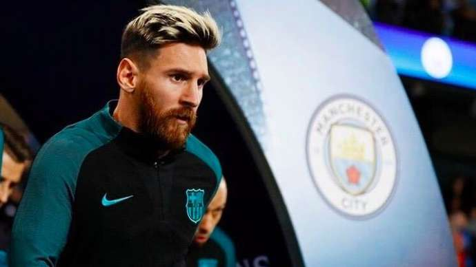 Messi at Man City