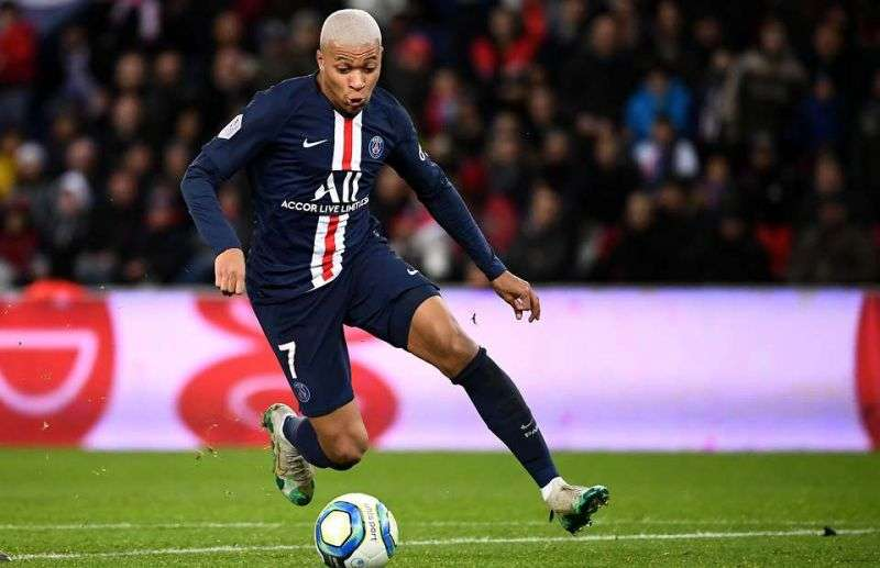 kylian mbappe fastest football player in 2020