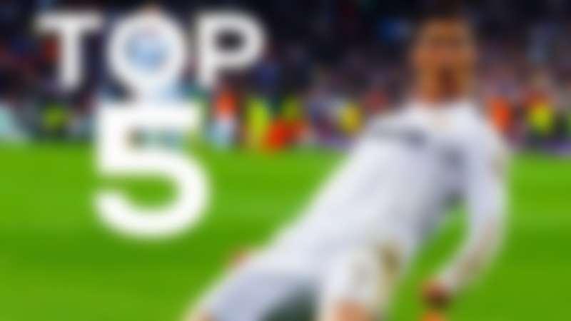 top 5 ronaldo goals