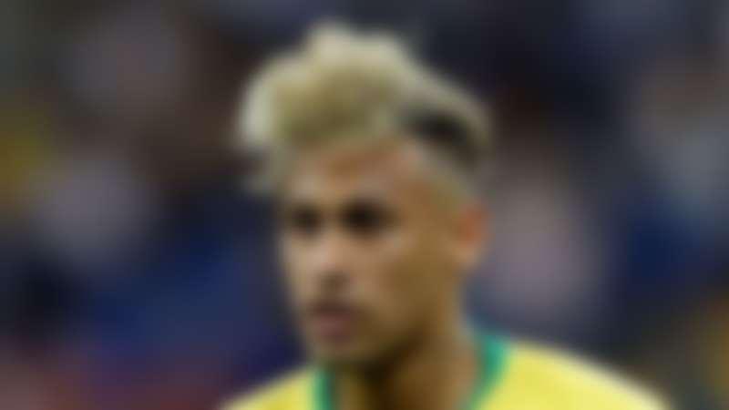 Neymar noodle haircut