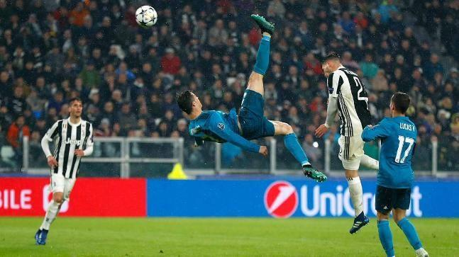 Cristiano Ronaldo Highest Jump Record Header and Bicycle kick against Juventus