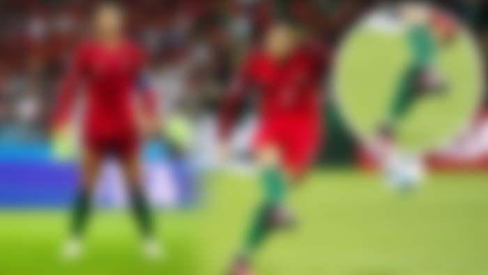 Ronaldo free kick stats and style