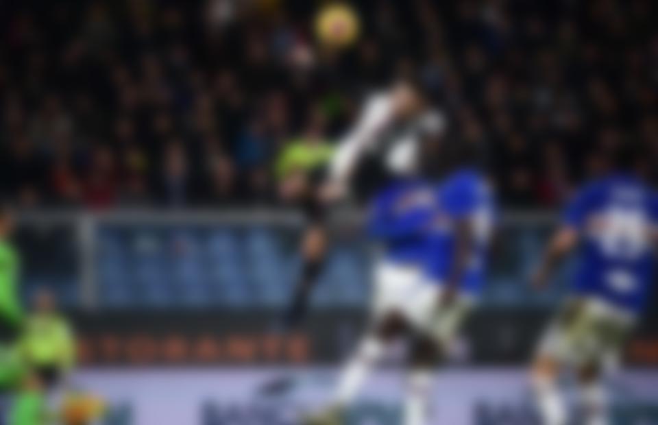 Cristiano Vertical Leap against Sampdoria