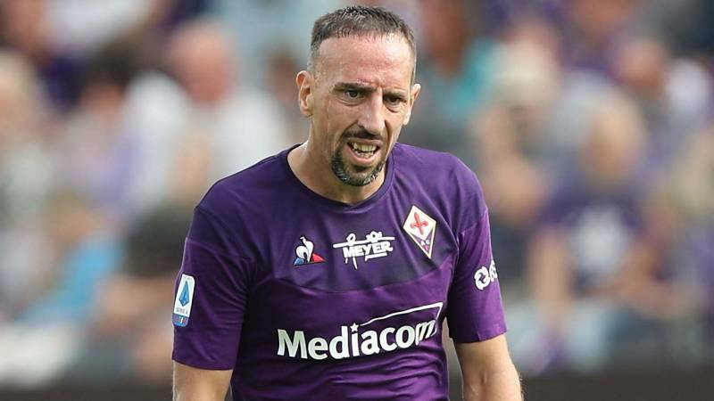 Franck Ribery assists in his career
