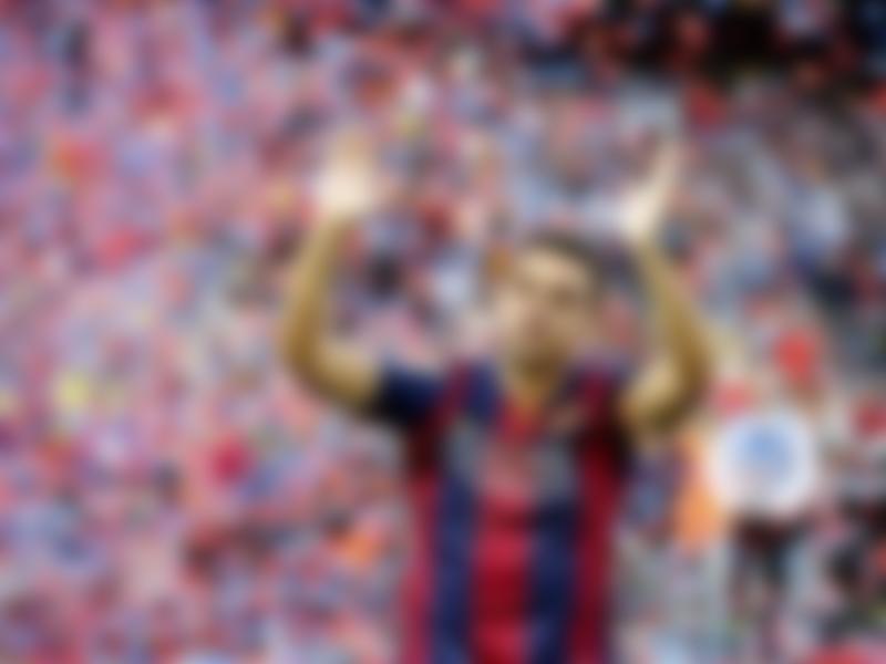 Xavi total assists in his career at Barcelona.