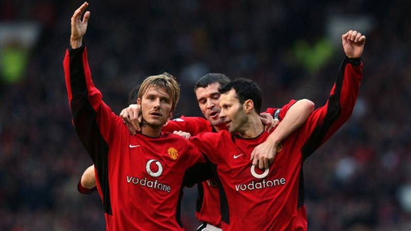 beckham, scholes, and giggs are one of the best football trios of all time