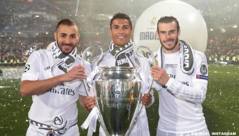 benzema ronaldo bale are among the best attacking football trios