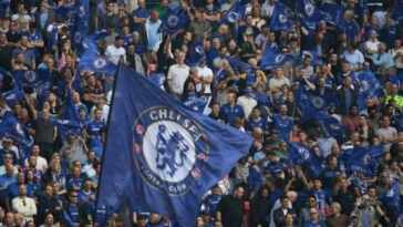 chelsea fans in the stadium - football clubs with most fans
