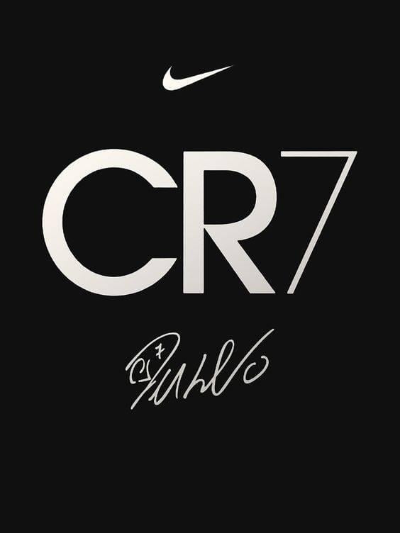 cr7 logo drawing