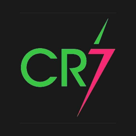 cr7 drawing logo