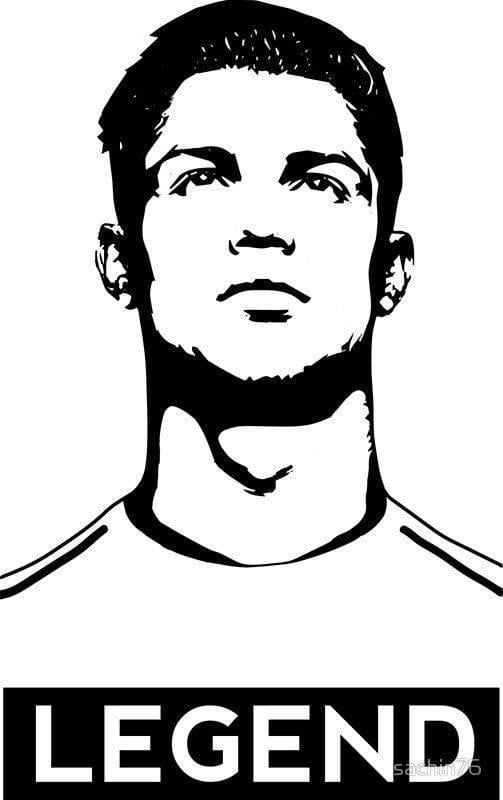 ronaldo shadow drawing