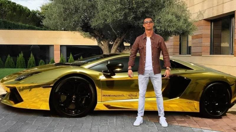 cristiano ronaldo's cars collection