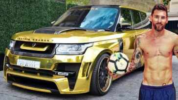 Lionel Messi cars collection
