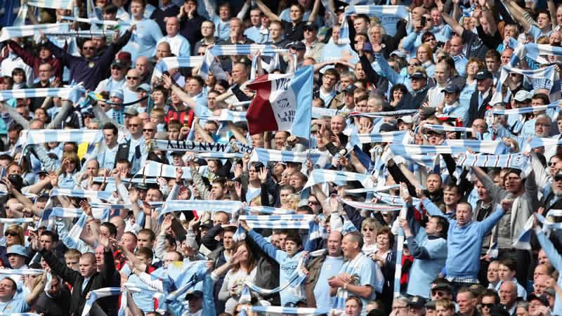 man city football clubs with most fans