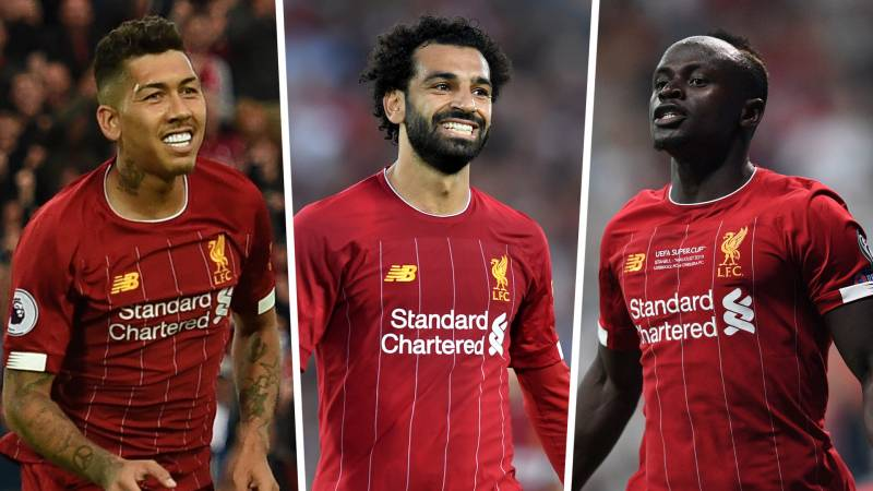mane salah and firmino are among the best football trios 2020