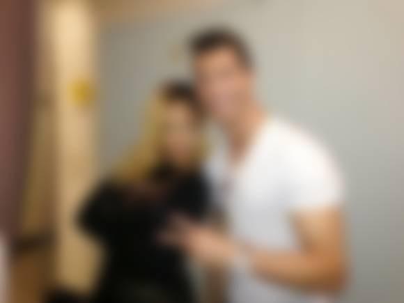 Rihanna is a fan of Cristiano Ronaldo