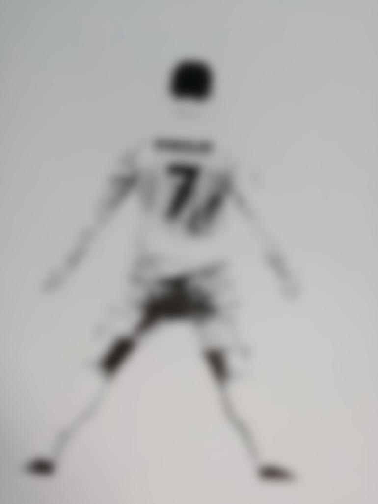 ronaldo jersey drawing