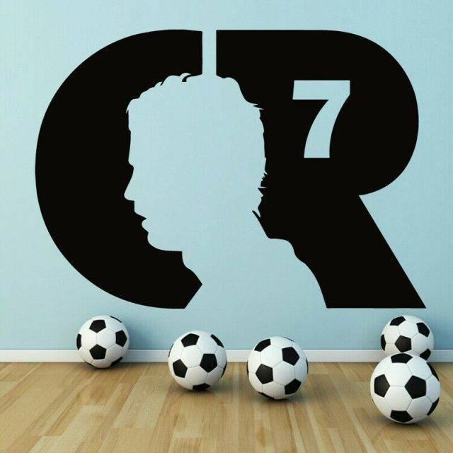 cr7 name drawing