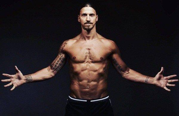zlatan ibrahimovic is among the strong football players
