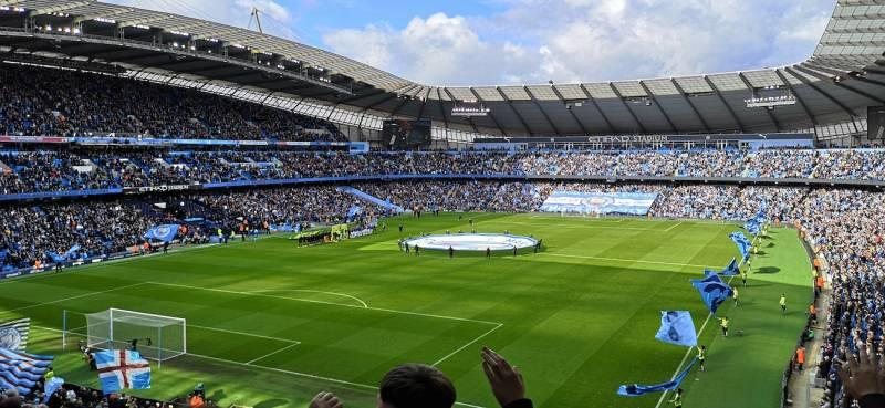 The Etihad is among the biggest football stadiums in english premier league