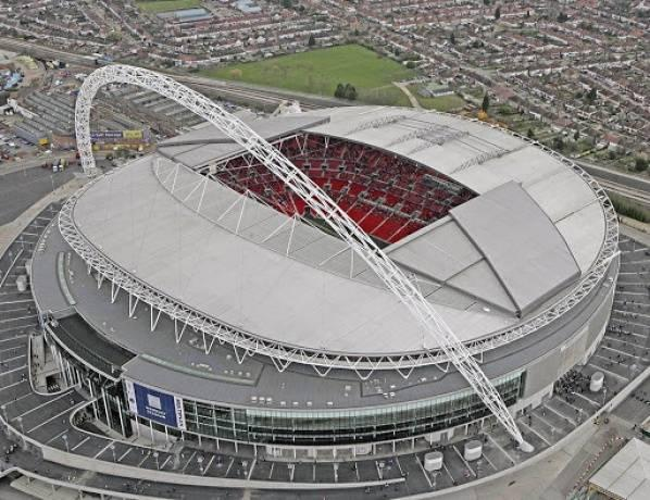 Wembley is the biggest football stadium in London