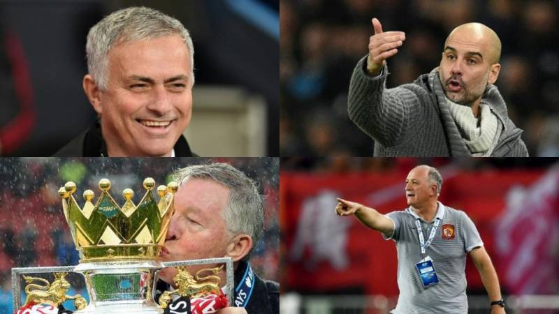 managers with most trophies in football
