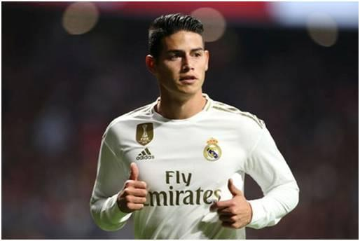 James Rodriguez is among real madrid expensive signings
