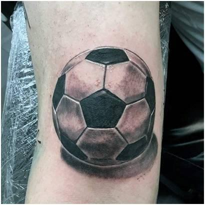 football tatto designs