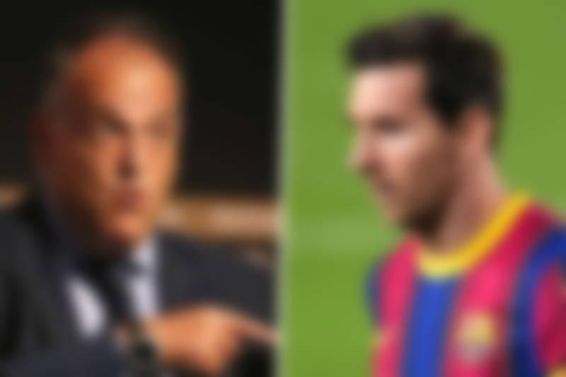 La Liga president ready for Messi Transfer