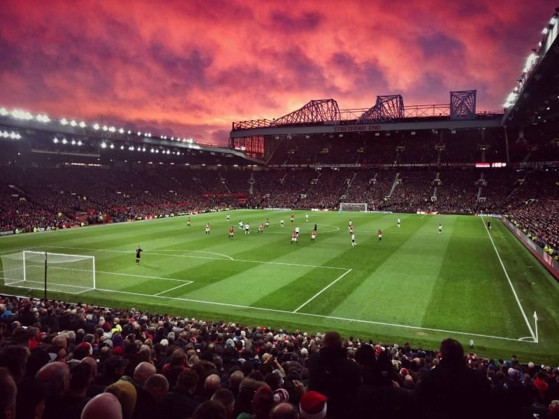Old Trafford is among top 10 largest football stadiums in england