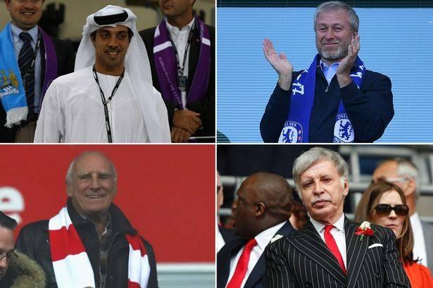 richest football club owners in the world