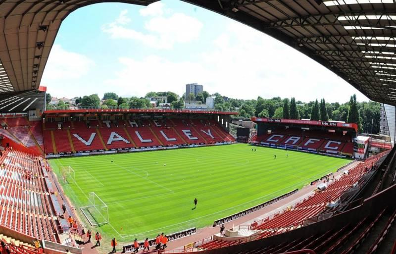 The Valley stadium of Charlton Athletic FC