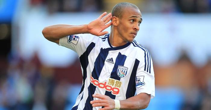 Peter Odemwingie as a West Brom player